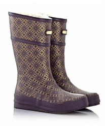 Резиновые сапоги MoovBoot Safari Tyrian Purple Three Quarter