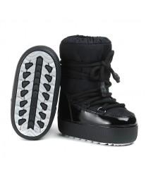 Сапоги женские Jog Dog BB003R Черный камуфляж