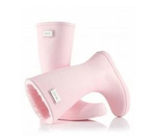 Высокие резиновые сапоги MoovBoot Le Signature Baby Pink