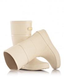 Осенние резиновые сапоги без меха Geo Classic MOOVBOOT Ivory