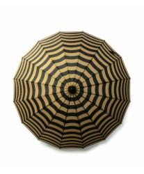 Зонт женский трость в полоску Carnival Stripe MOOVBRELLA