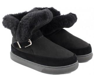 Ботинки из овчины Shepherd's Life Boots Black