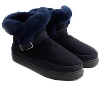 Ботинки из овчины Shepherd's Life Boots Blue