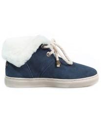 Ботинки из овчины Shepherd's Life Navy темно-синие