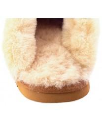 Домашние меховые тапочки Oak Chestnut