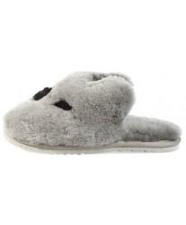 Тапочки из овчины Koala серая коала