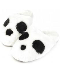 Тапочки из овчины Panda белая панда