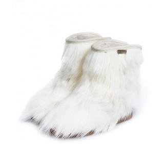 Короткие сапоги из овчины Shepherd's Life Snezok белый козлик