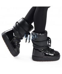 Сапоги женские Jog Dog 1403R Черный лео