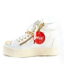 Кеды на платформе WOZ Cruella Bianco